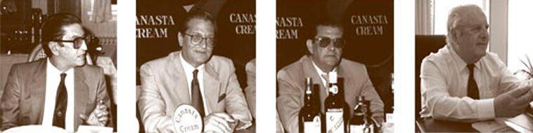 Nicolás, Jesús, José et Ángel Medina Cachero